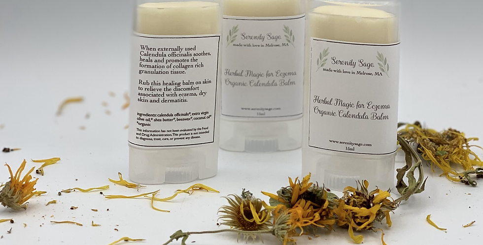 Herbal Magic for Eczema Organic Calendula Balm