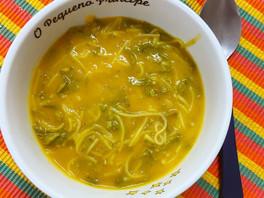 Sopa de Legumes com Couve