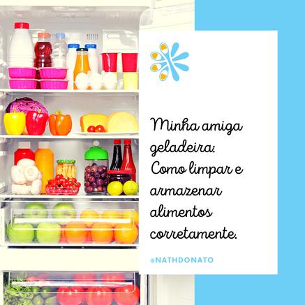 Como limpar e organizar a geladeira