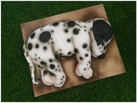 Sleeping Dog Cake