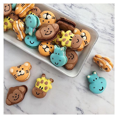 All set for a jungle-themed birthday party tomorrow 🐯 🐵🦒 #hippoemojineeded.jpg