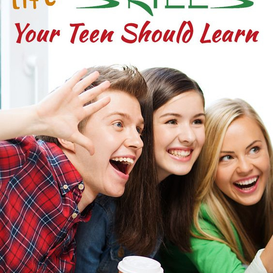 Everyday Life Skill For Teens
