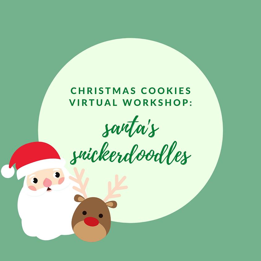 Christmas Cookies: Santa's Snickerdoodles