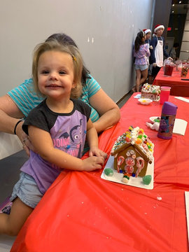 Gingerbread House Workshop!