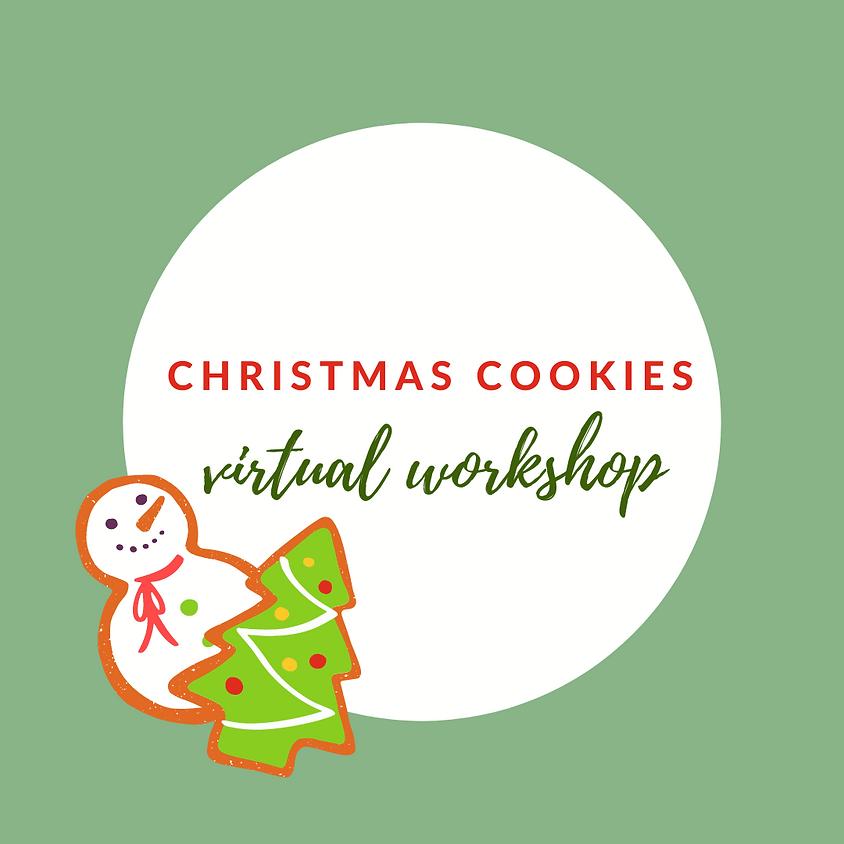 Christmas Cookies Virtual Workshop GSCNC