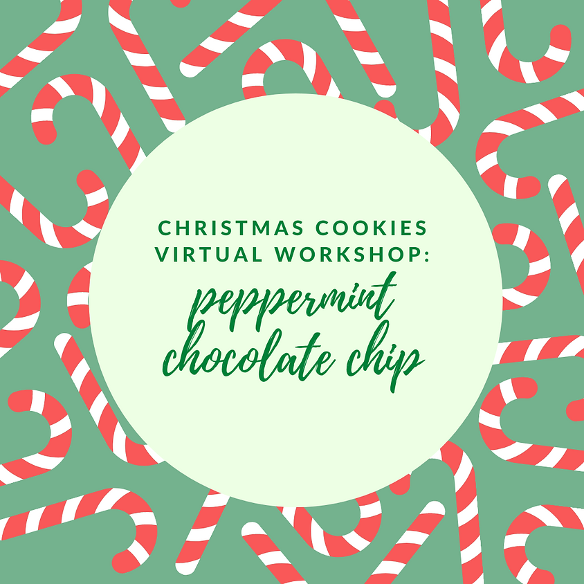 Christmas Cookies: Peppermint Chocolate Chip