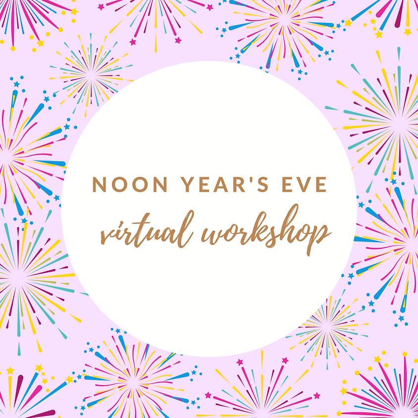Noon Year's Eve Virtual Workshop GSCNC