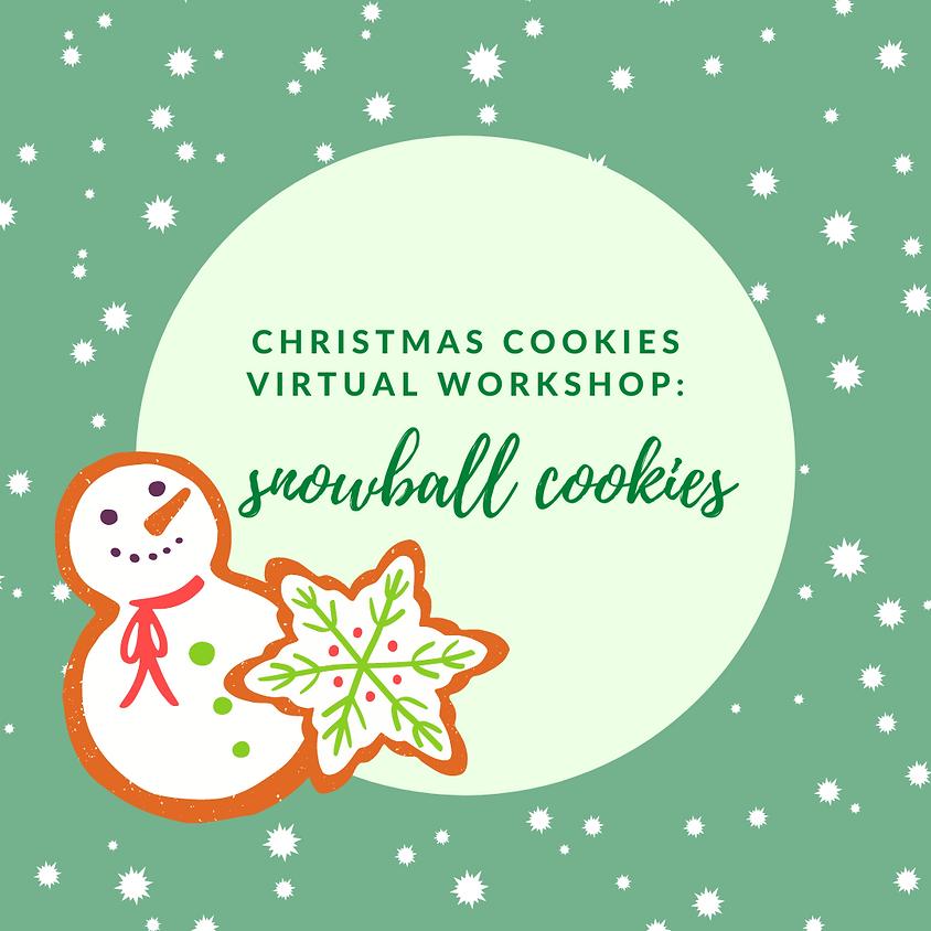 Christmas Cookies: Snowballs