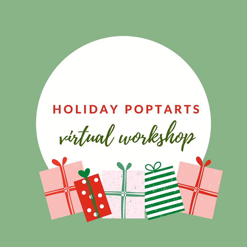 Holiday Poptarts Virtual Workshop GSCNC
