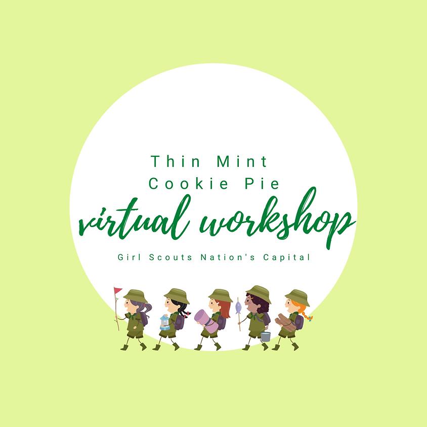 Thin Mint Cookie Pie Virtual Workshop GSCNC