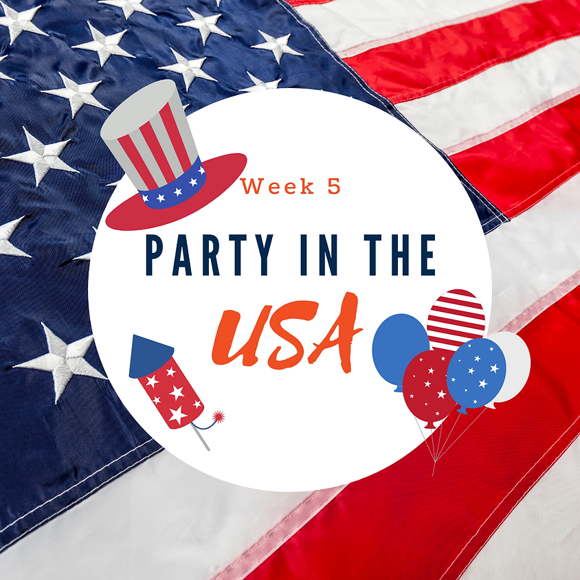 Week 5: Party in the USA