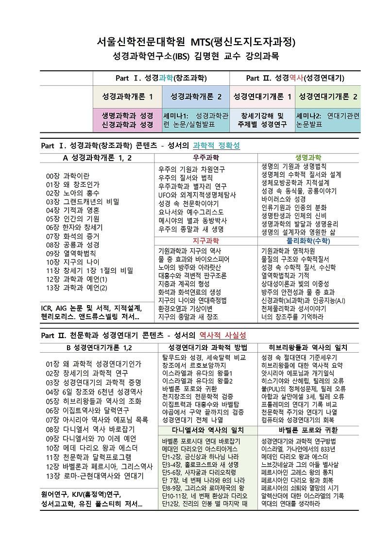 서울신학대학교 대학원 강의 과목 소개(김명현)1001.jpg