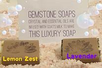 Gemstone & Essential Oil Soaps