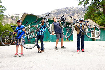 Pine Springs Ranch Mountain Bikers