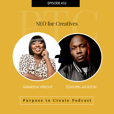 Purpose to Create Podcast Episode 32: SEO for Wedding Photographers & Creatives
