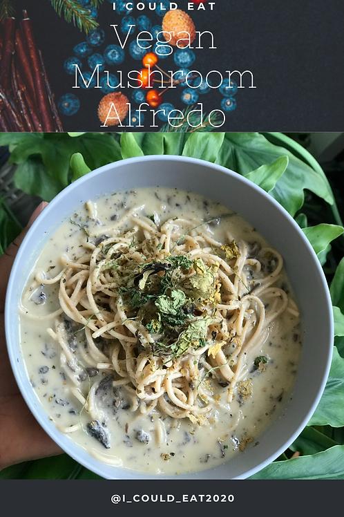 Vegan Mushroom Alfredo