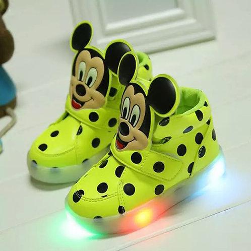 Mickey In Lights