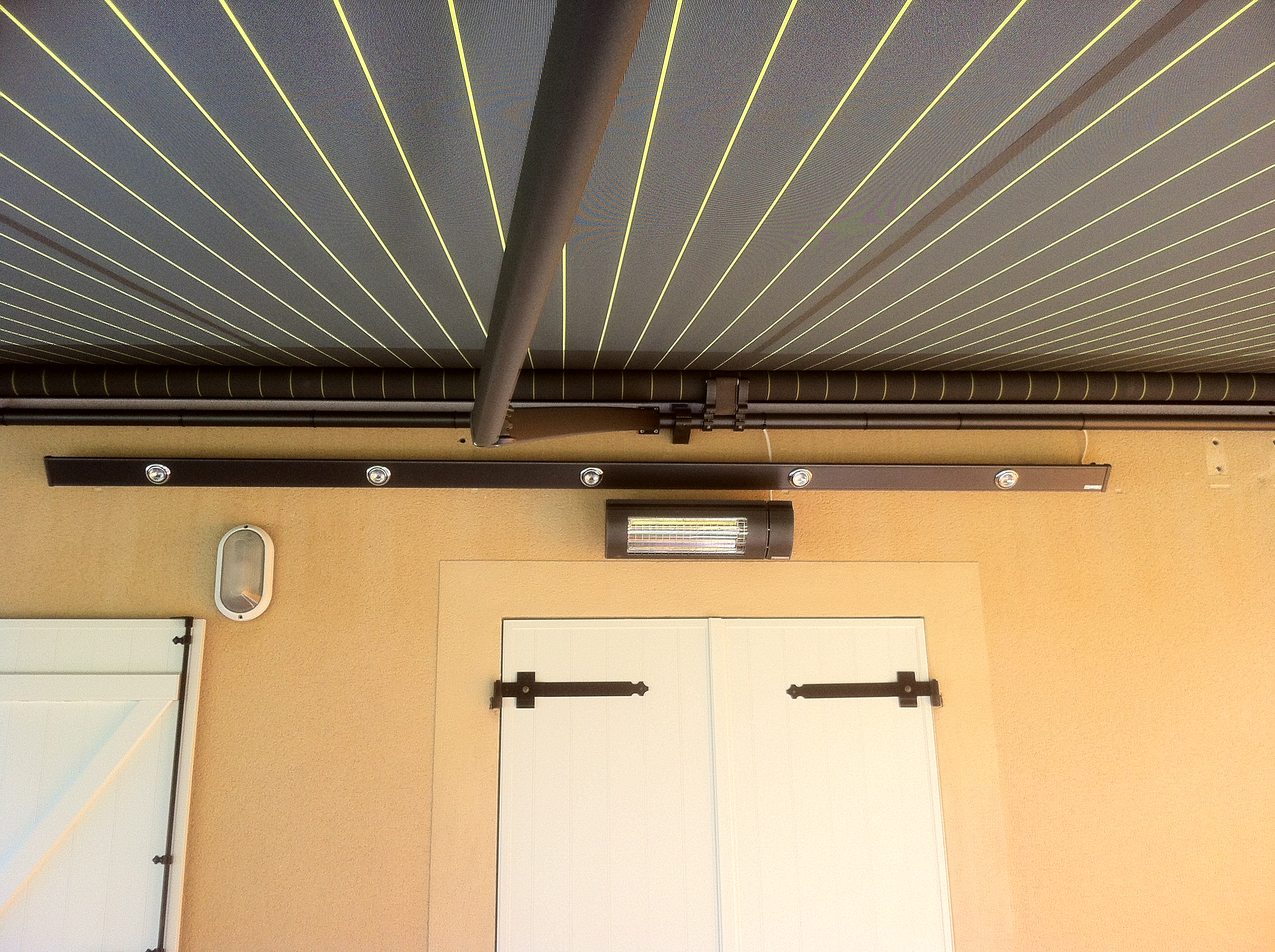 rampe lumière + chauffage