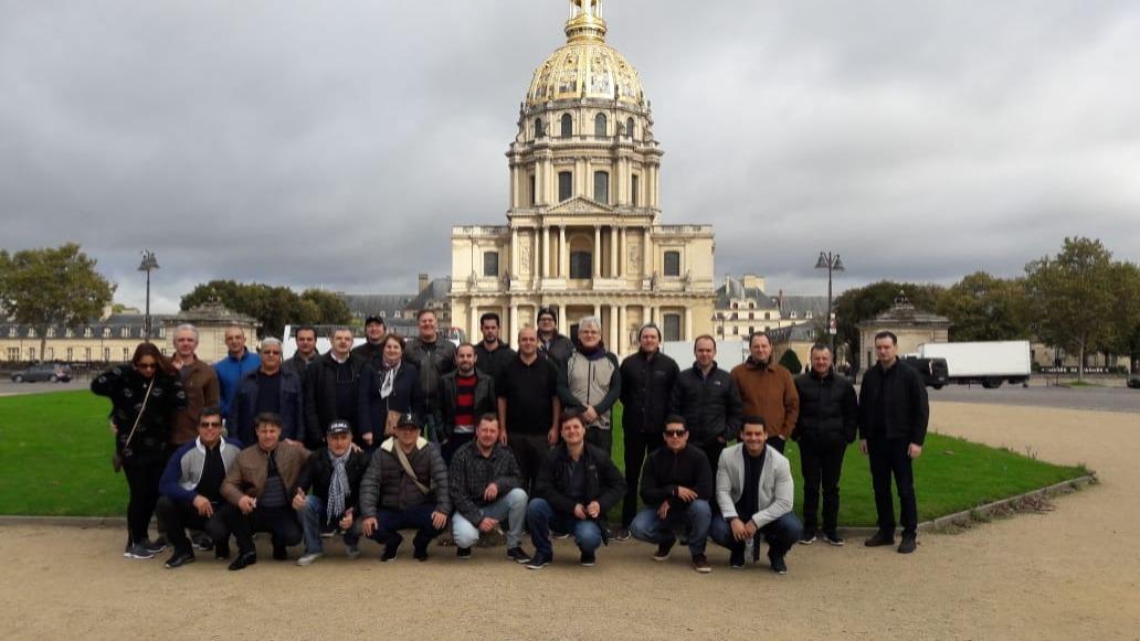 Grupo Feira K outubro 2019 - Paris