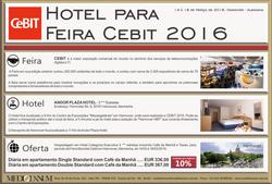 Cebit 2016 Hotelaria