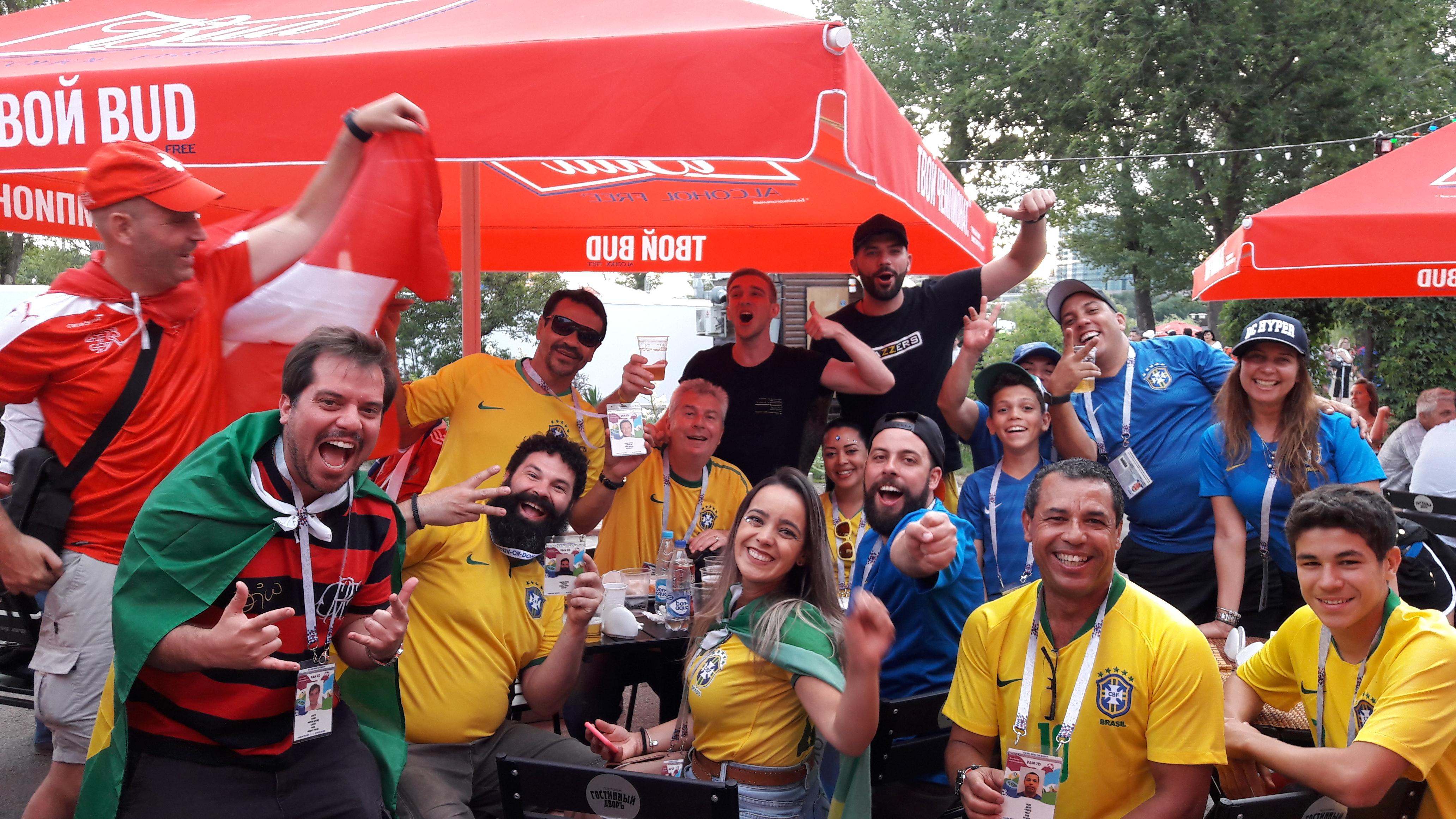 Grupo Mediolanum na Copa do Mundo na Rus
