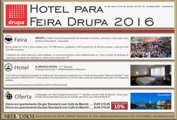 Drupa 2016 Hotelaria