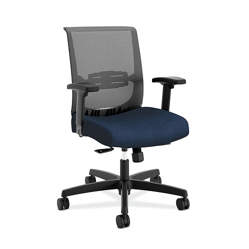 HON Convergence Task Chair   Synchro-Tilt With Seat Slide Control