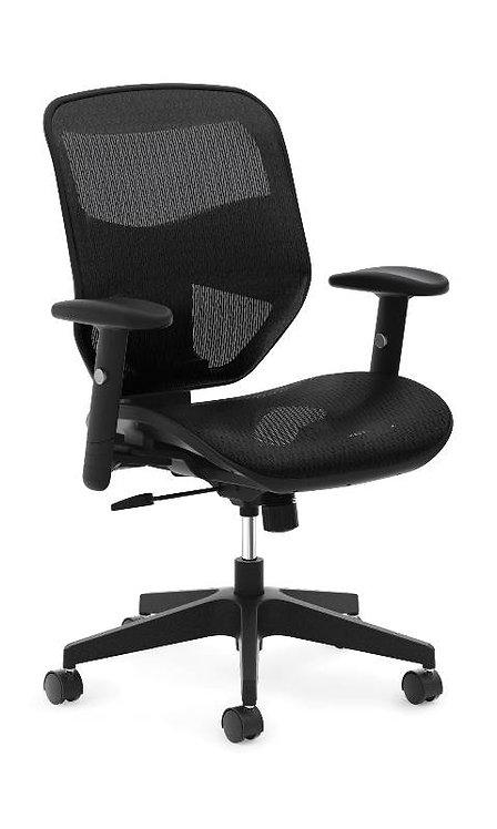 HON Prominent Mesh High-Back Task Chair | Center-Tilt | Adjustable Arms