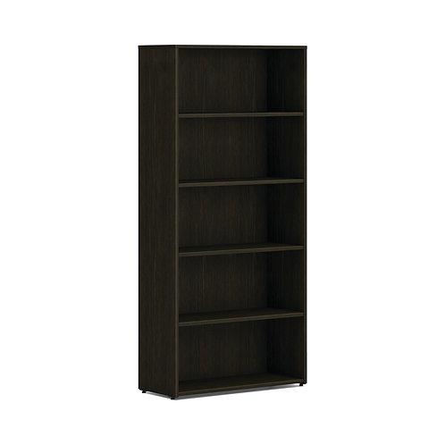 "HON Mod Bookcase | 5 Shelves | 30""W | Java Oak Finish"