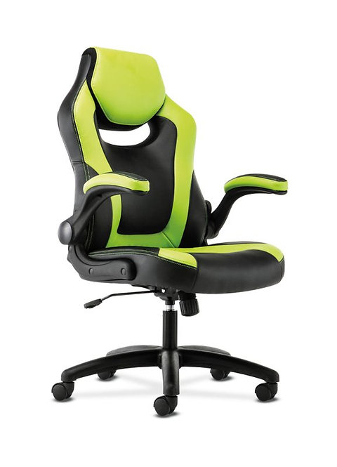 Sadie Racing Style Gaming Chair | Flip-Up Arms