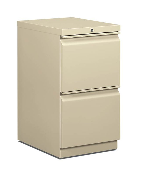 "HON Mobile Pedestal | 2 File Drawers | 15""W"