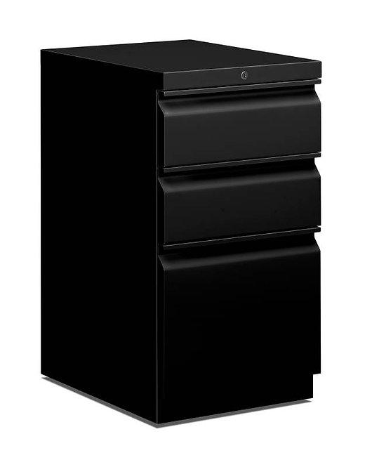 """HON Mobile Pedestal   2 Box / 1 File Drawer   15""""W"""