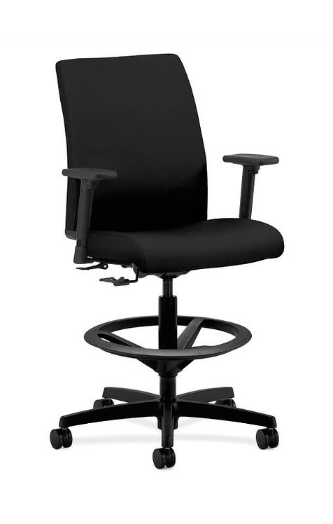 HON Ignition Low-Back Task Stool | Extended Height, Footring