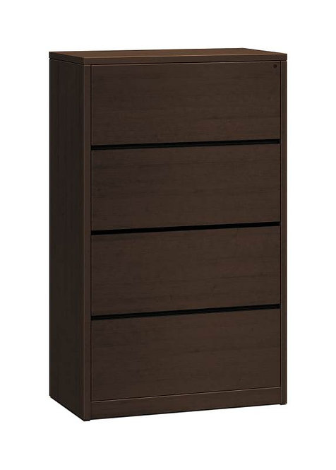 "HON 10500 Series Lateral File | 4 Drawers | 36""W"