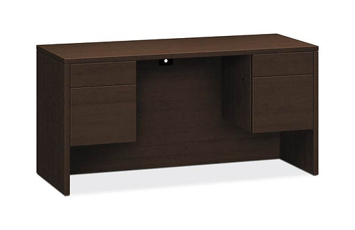 "HON 10500 Series Credenza w/Kneespace | 2 Box / 2 File Drawers | 60""W"