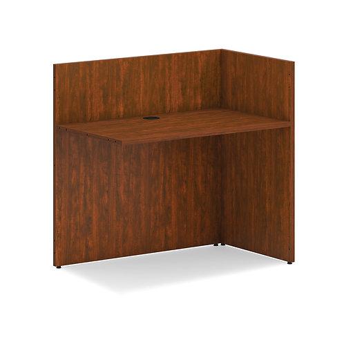 "HON Mod Reception Desk Return | 42""W | Russet Oak Finish"