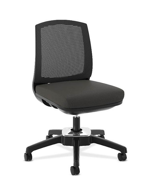 HON Active Task Chair | Armless | 360-Degree Pivot Motion