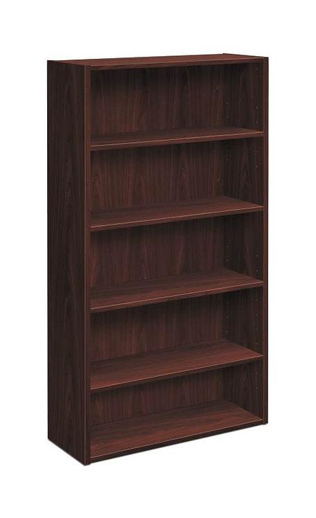 "HON Foundation Bookcase | 5 Shelves | 32""W"