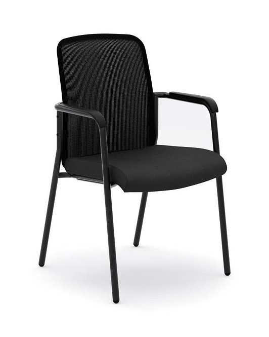 HON Instigate Mesh Back Stacking Multi-Purpose Chair | Fixed Arms