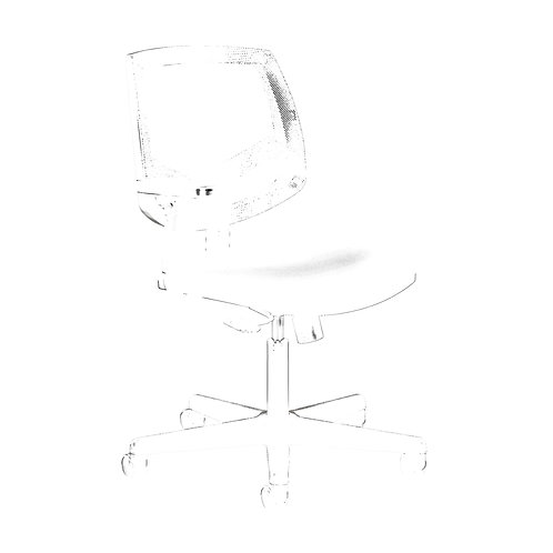 HON Volt Mesh Back Task Chair | Center-Tilt | Black SofThread Leather