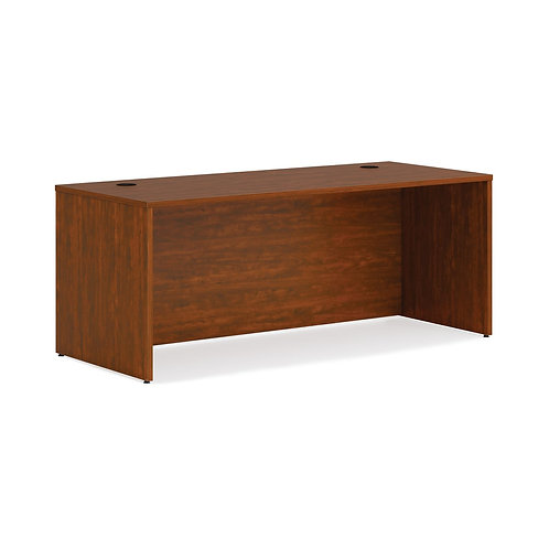 "HON Mod Desk Shell | 72""W | Russet Cherry Finish"