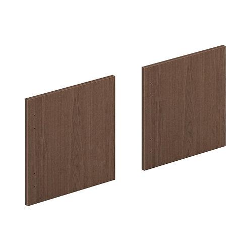 "HON Mod Laminate Doors | Set of 2 | 60""W | Sepia Walnut Finish"