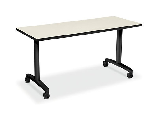 "HON Huddle Table Top | Flip Base | 60""W x 24""D"