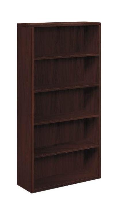 "HON 10500 Series Bookcase | 5 Shelves | 36""W"