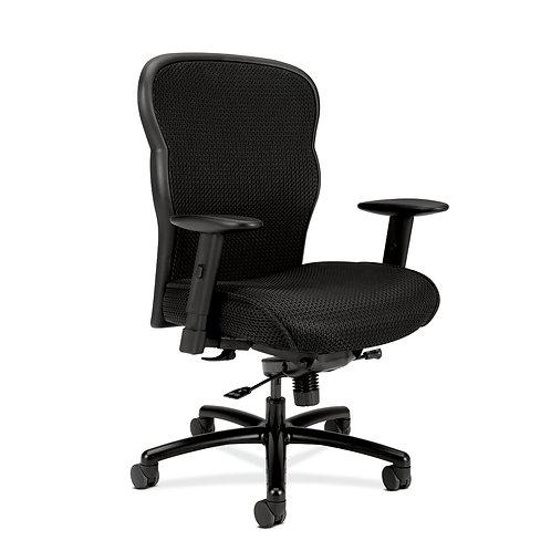 HON Wave Mesh Big and Tall Executive Chair | Knee-Tilt | Adjustable Arms