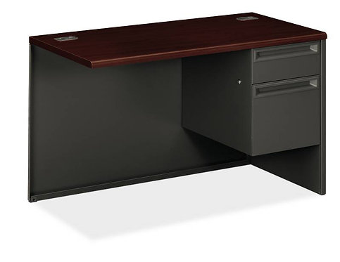 "HON 38000 Series  Return | 1 Box / 1 File Drawer | Right | 48""W"