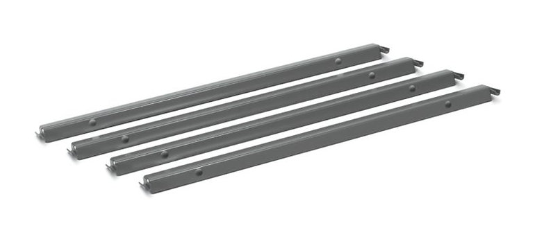 HON Laminate Single Rail Hanging File Rack | 4 Pack