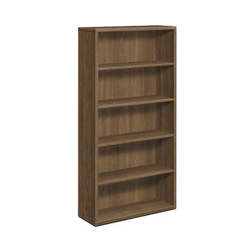 "HON 10500 Series Bookcase | 5 Shelves | 36""W | Pinnacle Finish"