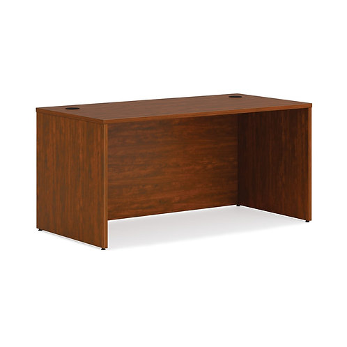 "HON Mod Desk Shell | 60""W | Russet Cherry Finish"