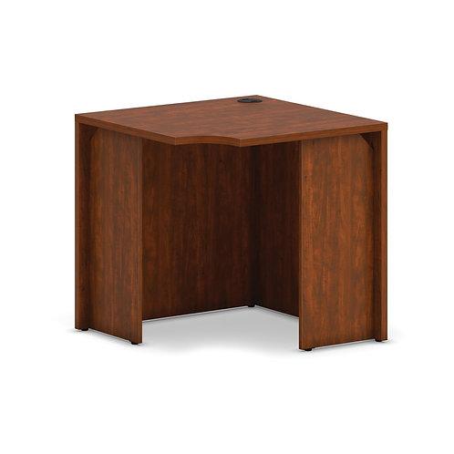 "HON Mod Corner Desk Shell   30""W   Russet Cherry"
